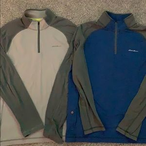 Two for one, Eddie Bauer active tops